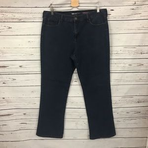 Style & Co Boot Cut Jeans Dark Wash Size 16 Short